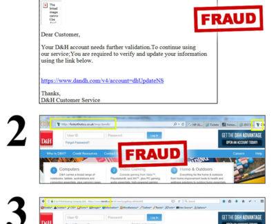 INCTech Blog Warning Phishing Email